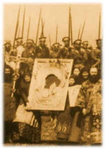 Проводи казаков на Русско-японскую войну, 1905 г.